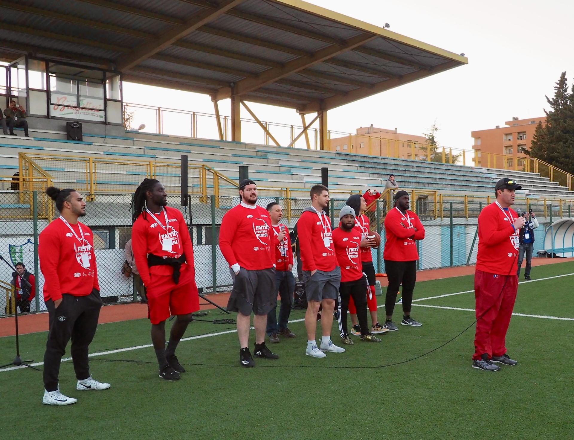 Perugia capitale del football americano, a San Sisto le ...